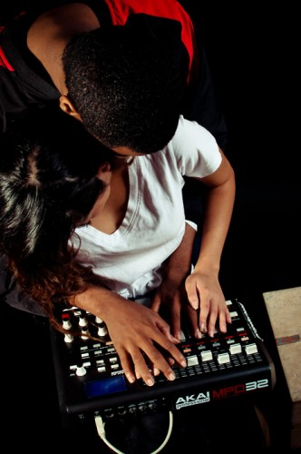 lovers and an akai mpc